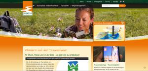 Screenshot von www.traumpfade.info
